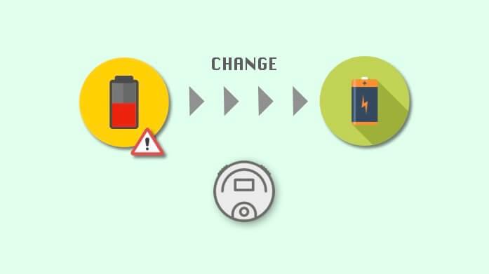 ルンバのバッテリー交換